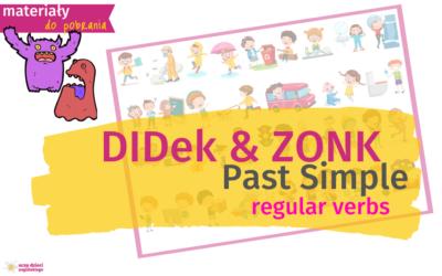 DiDek i ZONK, czyli Past Simple w obrazkach