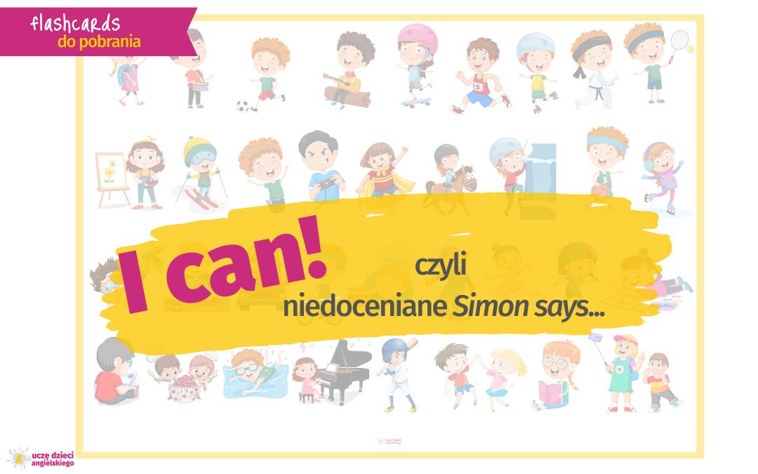 """niedoceniane Simon says…czyli o tym jak """"wprowadzić"""" 35 fraz na jednej lekcji!"""
